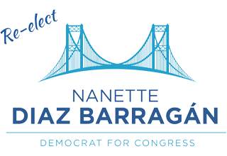 Nanette Barragan For Congress (CA-44) Logo